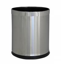 Корзина для мусора Merida Optimum 10л, матовый металлик, KSM103