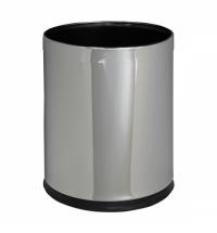 Корзина для мусора Merida Optimum 10л, полированный металлик, KSP103