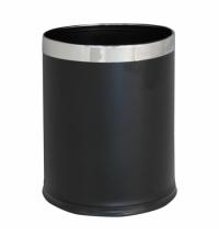 Корзина для мусора Merida Optimum 10л, черная, KSC103