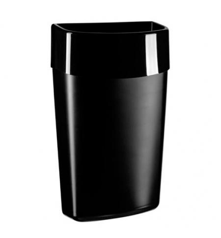 фото: Корзина для мусора Merida Top Black 40л, черная, KCC101