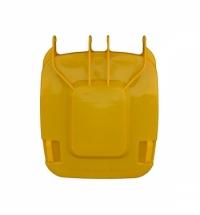 Крышка для контейнера Merida 240л, желтая, KJY913