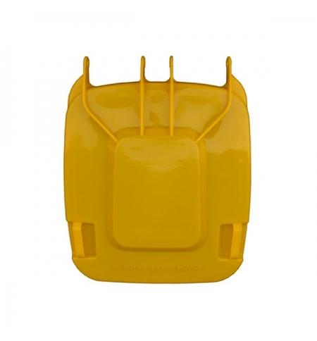 фото: Крышка для контейнера Merida 240л, желтая, KJY913