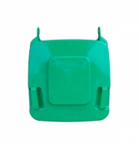 Крышка для мусорного контейнера Merida 120л, зеленая, KJZ912