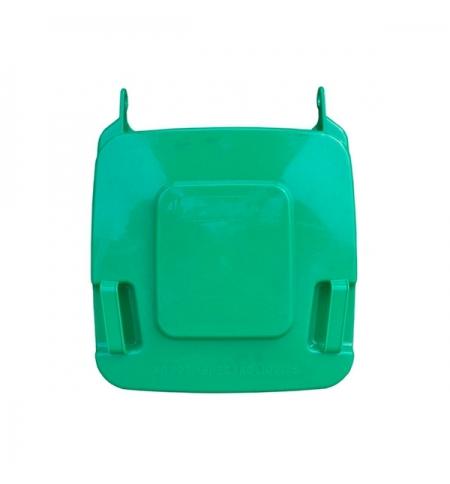 фото: Крышка для мусорного контейнера Merida 120л, зеленая, KJZ912