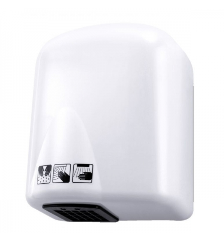 фото: Сушилка для рук Merida EcoFlow 1650 Вт, 17м/с, белая, EJB102
