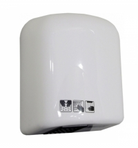 Сушилка для рук Merida EcoFlow Plus 1580 Вт, 20м/с, белая, EJB101