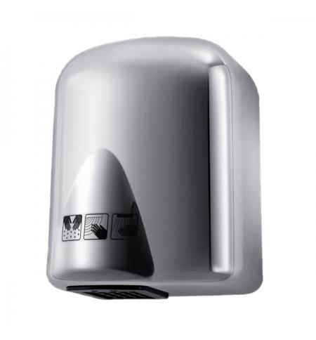 фото: Сушилка для рук Merida EcoFlow Plus 1650 Вт, 20м/с, матовый металлик, EJM101