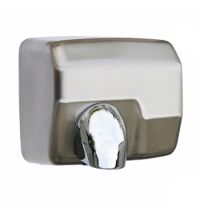 Сушилка для рук Merida StarFlow 2300Вт, 30м/с, матовый металлик, EIM101