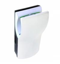 Сушилка для рук скоростная Merida DualFlow Plus 1100 Вт, 113м/с, белая, M72A