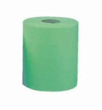 фото: Бумажные полотенца Merida Classic Maxi RKZ102, в рулоне, зеленые, 180м, 1 слой, 6 рулонов