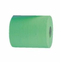 Полотенца бумажные Мерида Economy Automatic Maxi RAZ301, в рулоне, зеленые, 250м, 1 слой, 6 рулонов