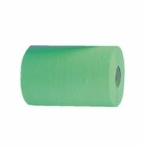Бумажные полотенца Merida Economy Automatic Mini RAZ401, в рулоне, зеленые, 137м, 1 слой, 11 рулонов