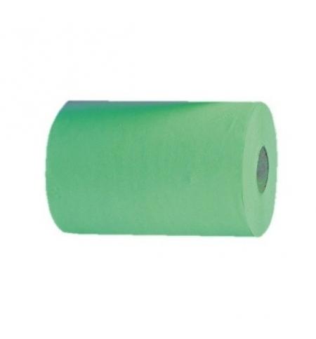 фото: Бумажные полотенца Merida Economy Automatic Mini RAZ401, в рулоне, зеленые, 137м, 1 слой, 11 рулонов