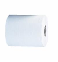 фото: Полотенца бумажные Мерида Optimum Automatic Maxi, в рулоне, белые, 1 слой, 250м, 6 рулонов