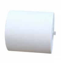 Бумажные полотенца Merida Top Automatic Maxi БПАТ301, в рулоне, белые, 200м, 2 слоя, 6 рулонов