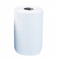 Бумажные полотенца Merida Top Mini БПРТ201, в рулоне, белые, 70м, 2 слоя, 12 рулонов