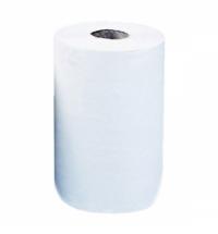 фото: Бумажные полотенца Merida Top Mini БПРТ201, в рулоне, белые, 70м, 2 слоя, 12 рулонов