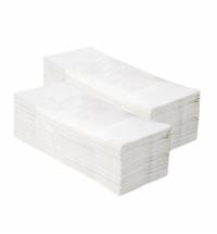 Бумажные полотенца Мерида V-Optimum 5000 ПЗР02, листовые, белые, 250шт, 1 слой, 20 пачек