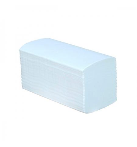 фото: Бумажные полотенца Merida V-премиум листовые, белые, v укладка, 180шт, 3 слоя