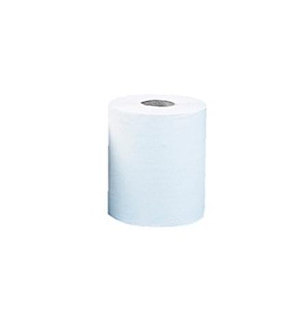 фото: Бумажные полотенца Merida Классик Макси в рулоне с центральной вытяжкой, белые, 240м, 1 слой