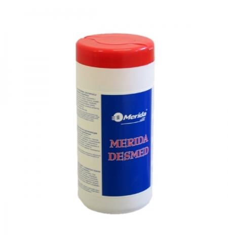 фото: Дезинфицирующие салфетки Merida Desmed MS020, для рук и поверхностей, 200 шт