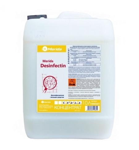 фото: Дезинфицирующий концентрат Merida Desinfectin 10л, с моющим эффектом, NMD601