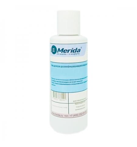 фото: Антисептик для рук Merida 150мл, спиртовой, с дезинфицирующим эффектом, MK006