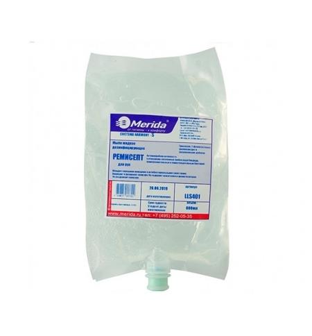 фото: Жидкое мыло в картридже Merida Harmony-S Ремисепт 800мл, с дезинфицирующим эффектом , LLS401