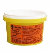Очищающая паста для рук Merida 500мл, для очистки сильно загрязненных рук, PA12