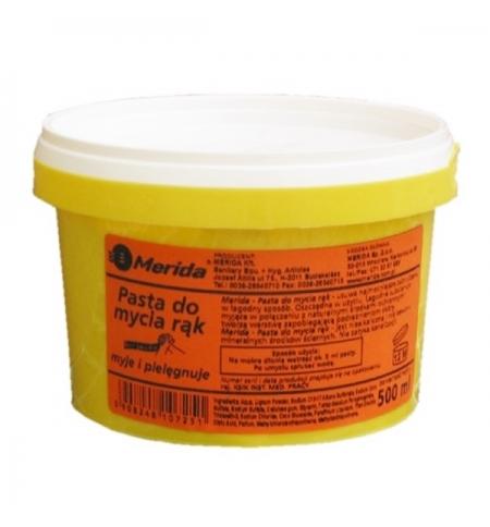 фото: Очищающая паста для рук Merida 500мл, для очистки сильно загрязненных рук, PA12