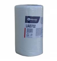 Протирочный материал Merida UAB702, для очистки сильных загрязнений, в рулоне, 45м, белый