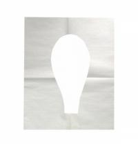 Индивидуальные покрытия на унитаз Merida Stella ГП11СТ эконом, белые, 100шт