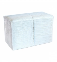 фото: Салфетки сервировочные Merida Classic белые, 24х24см, 1 слой, 10уп х 400шт, СБК24-4000