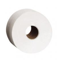 фото: Туалетная бумага Merida Classic Mini 19 PKB202, в рулоне, 220м, 1 слой, белая, 12 рулонов