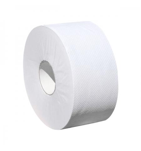 фото: Туалетная бумага Merida Otimum Mini 19 POB203, в рулоне, 140м, 2 слоя, белая, 12 рулонов