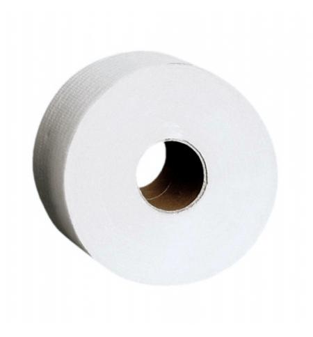 фото: Туалетная бумага Merida Top Mini 19 PTB201, в рулоне, 180м, 2 слоя, белая, 12 рулонов