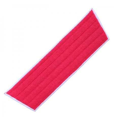 фото: Насадка для швабры моп Merida Economy 45/40 см, микрофибра, красный, SEP340