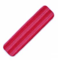 Насадка для швабры моп Merida Premium 47см, микрофибра, красный, STP340