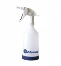 Бутылка дозирующая Merida 1л, с пенообразователем, белая, BT3