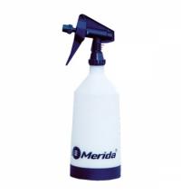 Бутылка дозирующая Merida 1л, с распылителем, синяя, BT2