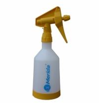 Бутылка дозирующая Merida 500мл, с распылителем, желтая, BT8