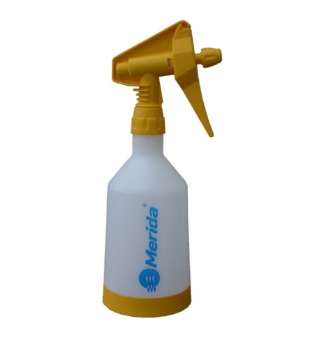 фото: Бутылка дозирующая Merida 500мл, с распылителем, желтая, BT8