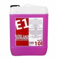 Моющий концентрат Merida E1 UNI San 10л, на основе лимонной кислоты, для санитарных зон, NEL601