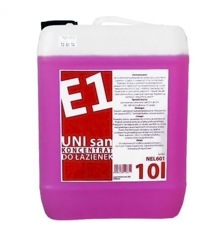 фото: Моющий концентрат Merida E1 UNI San 10л, на основе лимонной кислоты, для санитарных зон, NEL601