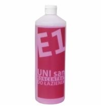 Моющий концентрат Merida E1 UNI San 1л, на основе лимонной кислоты, для санитарных зон, NEL101