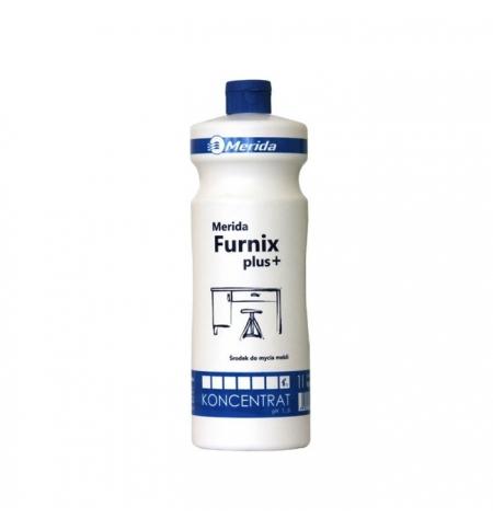 фото: Моющий концентрат Merida Furnix 1л, для мебели и пластика, NMU103
