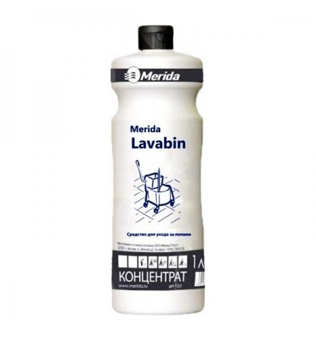 фото: Моющий концентрат Merida Lavabin 1л, для ухода за водостойкими полами, NMS107