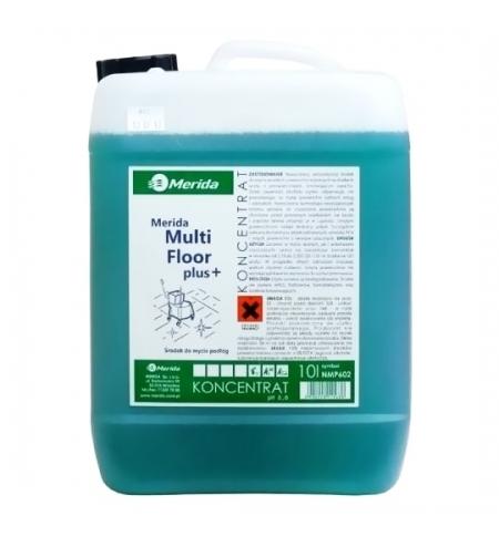фото: Моющий концентрат Merida Multi Floor 10л, для полов, с антистатическим эффектом, NMP602