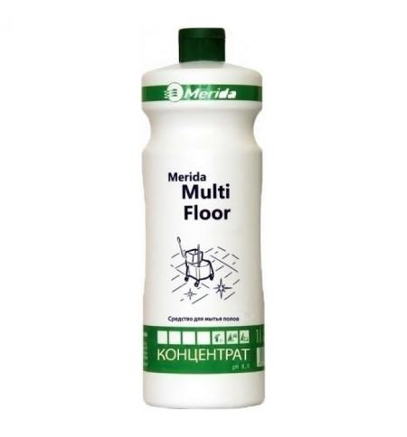 фото: Моющий концентрат Merida Multi Floor 1л, для полов, с антистатическим эффектом, NMP102