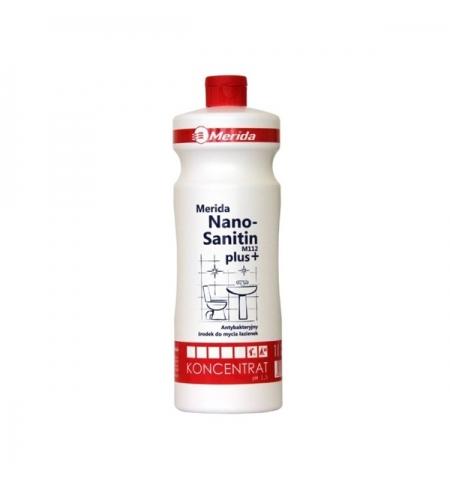 фото: Моющий концентрат Merida Nano-Sanitin 1л, для санитарных зон, с антистатическим эффектом, NML103